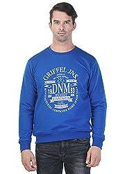 Griffel Full Sleeve Printed Men's Sweatshirt