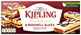 Mr Kipling Exceedingly Good 6 Bakewell Slices 211 g (Pack of 12)