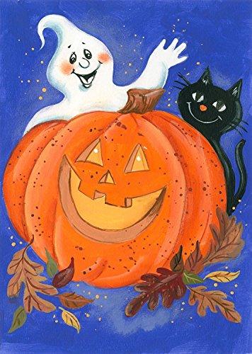 Pumpkin Halloween Garden Flag