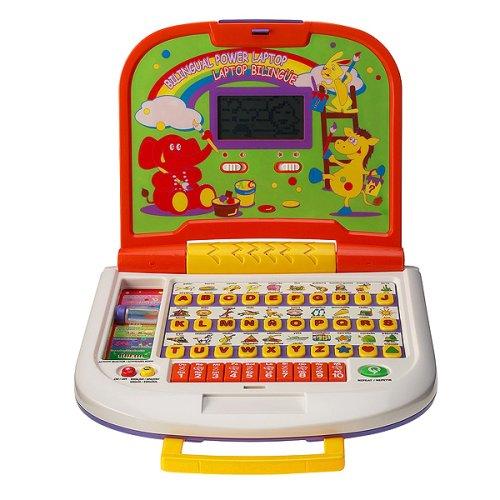 Kool Toyz Bilingual Power Laptop - Buy Kool Toyz Bilingual Power Laptop - Purchase Kool Toyz Bilingual Power Laptop (Kool Toyz, Toys & Games,Categories,Electronics for Kids,Learning & Education,Toys)
