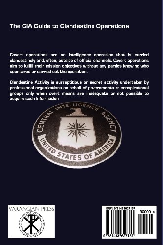 The CIA Guide to Clandestine Operations