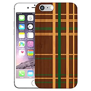 Digione Real Shockproof Dual Layer Bamboo Wood show stop Series Back Cover Case For Apple iPhone 6 6s BK-638