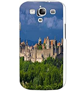 SAMSUNG GALAXY S3 CASTLE Back Cover by PRINTSWAG