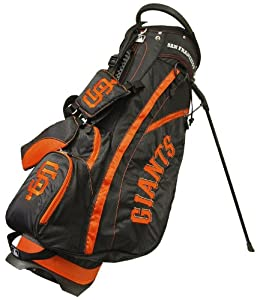 MLB San Francisco Giants Fairway Stand Golf Bag, Black by Team Golf