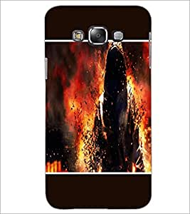 PrintDhaba Invisible Man D-1281 Back Case Cover for SAMSUNG GALAXY GRAND 3 (Multi-Coloured)