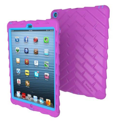 Gumdrop Cases Drop Tech Color Case for iPad Air-Purple/Light Blue