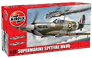Airfix A02046A Supermarine Spitfire MkVb 1:72 Scale Military Aircraft Series 2 Model Kit by Hornby