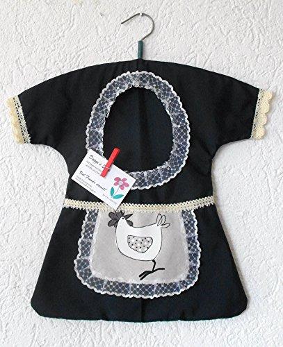 Klammerkleid;, klammerkleidchen clothespin bag;;
