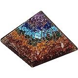 FairyBells Kart Energised Orgonite 7 Chakra Pyramid FBKAC70