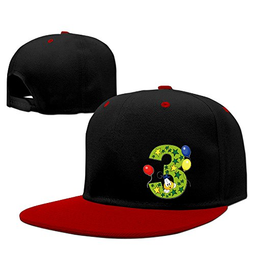 mysterie-balloon-star-number-three-red-newest-women-cap