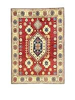 L'Eden del Tappeto Alfombra Uzebekistan Rojo / Multicolor 157  x  216 cm