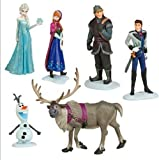 6 pcs Disney frozen PVC Figure Play Set doll Anna Elsa Hans Kristoff Sven Olaf
