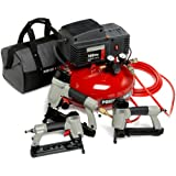 PORTER-CABLE CFNBNS 3-Nailer and Compressor Combo Kit ~ PORTER-CABLE