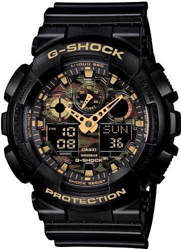 Casio G Shock Watch Camouflage Men' S Watch Ga 100cf-1a