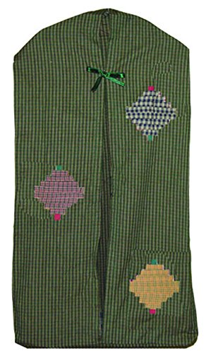 Patch Magic 12-Inch by 23-Inch Harvest Log Cabin Diaper Stacker