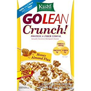 Kashi go lean crunch honey almond flax