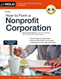 img - for How to Form a Nonprofit Corporation (How to Form a Nonprofit Corporation (W/Disk)) book / textbook / text book
