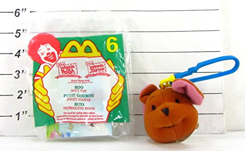 McDonald's Happy Meal - Disney Winnie the Pooh's Roo Soft Toy & Key Chain - 1