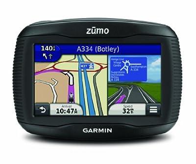 GARMIN ZUMO 390LM - GPS Moto écran 4.3 pouces (Cartes de 45 pays, mise à jour gratuite à vie)