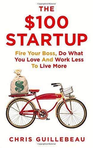 Buchseite und Rezensionen zu 'The $100 Startup' von Chris Guillebeau