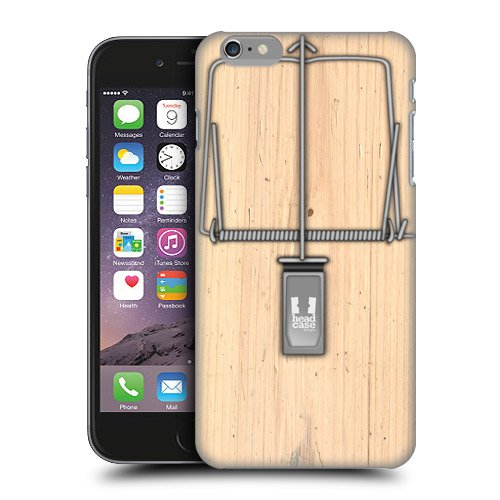 Head Case Designs Mouse Trap Protective Snap-On Hard Back Case Cover For Apple Iphone 6 5.5