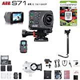 AEE S71 16MP 4K Wi-Fi Action Camera Bundle (32GB Backpac Edition)