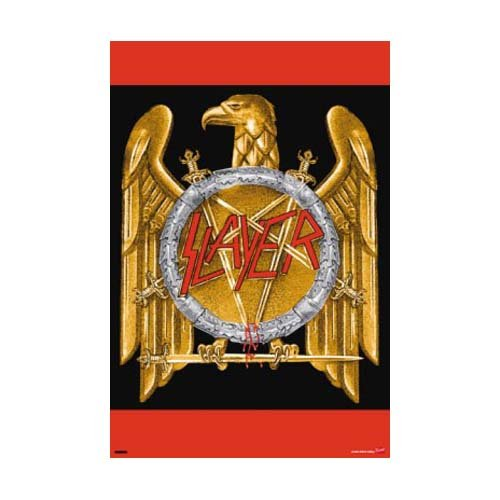Slayer - Poster Eagle (in 59,4 cm x 84,1 cm)