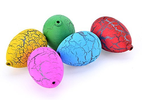 60PCS Hatching Growing Dinosaur Eggs Add Water Magic Cute Children Kids Toy