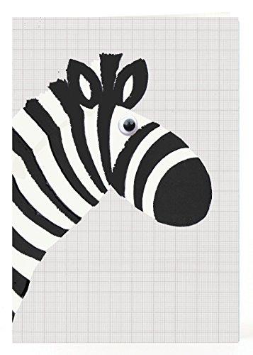 Petra Boase Zebra Card front-47802