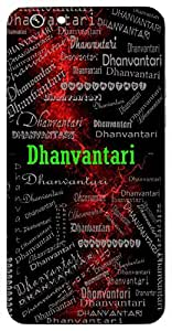 Dhanvantari (Doctor Of Gods) Name & Sign Printed All over customize & Personalized!! Protective back cover for your Smart Phone : Samsung Galaxy S4mini / i9190