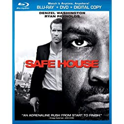 Safe House (Two-Disc Combo Pack: Blu-ray + DVD + Digital Copy + UltraViolet)