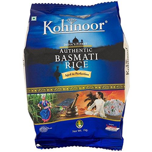 バスマティライス インド産 Kohinoor 1kg Basmati Rice 長粒米 インディカ米 香り米 業務用