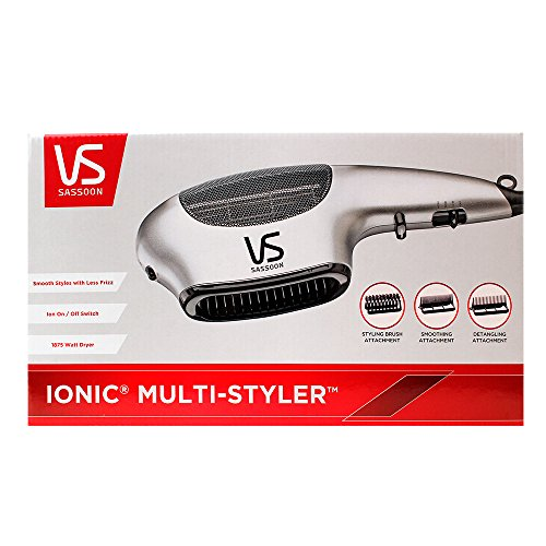 Vidal Sassoon VS783 1875-Watt Professional Anti-Static Ion Dryer and Styler