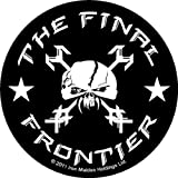 Iron Maiden The Final Frontier Skull Official Circular Sticker (9cm)