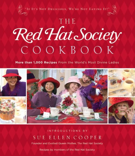 The Red Hat Society Cookbook by The Red Society