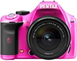 PENTAX デジタル一眼レフカメラ K-x レンズキット ピンク/ブラック 026