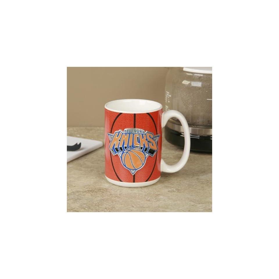 NBA New York Knicks Pewter Logo Basketball Coffee Mug