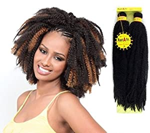 Amazon.com : RastAfri Malibu Afro Kinky Braid (14, HM27/613) : Hair ...