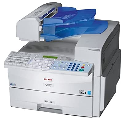 Ricoh 430535 Laser Fax/Copy/Net/Opt Print - 600 x 600 dpi image quality - 1,280 pages of fax memory - Print speed of 15 ppm FAX4430NF