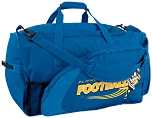 Champro Adult Football Equipment Bag (Royal, 28 x 15 x 15)