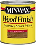 Minwax 22240 Wood Finish Interior Wood Stain, Special Walnut, 1/2-Pint