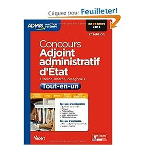 Concours adjoint administratif d 39 etat tout - Grille indiciaire adjoint administratif 2014 ...