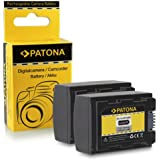2x Batterie IA-BP105R pour Samsung HMX-F80   HMX-F90   HMX-F91   HMX-F800   HMX-F810   HMX-F900   HMX-F910   HMX-F920   HMX-H200   HMX-H203   HMX-H204   HMX-H205   HMX-H220   HMX-H300   HMX-H303   HMX-H304   HMX-H305   HMX-H320   HMX-H400   HMX-H405   SMX-F40   SMX-F43   SMX-F44   SMX-F50   SMX-F53 et bien plus encore...