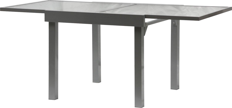 IB-Style – Gartentisch Diplomat-XL Premium Ausziehtisch silbermatt 90 – 180 cm Gartentisch jetzt bestellen