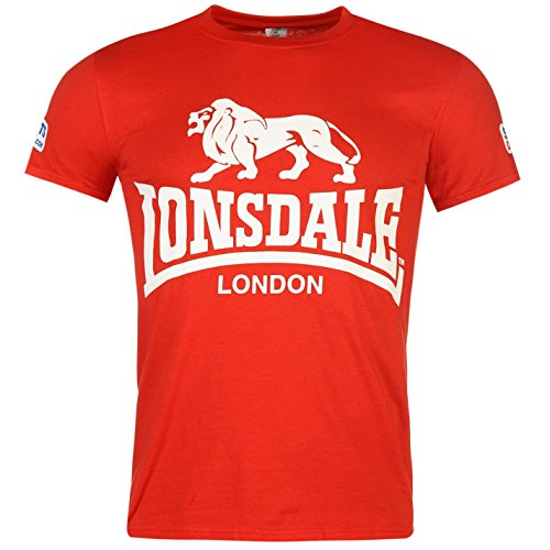 lonsdale-hommes-walk-in-t-shirt-tee-top-haut-col-rond-manche-courte-imprime-rouge-extra-lge