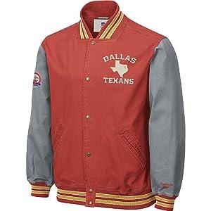 Dallas Texans AFL Throwback Canvas Jacket