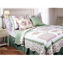 Textiles Plus 3-Piece Mini Quilt Set Spring Patch