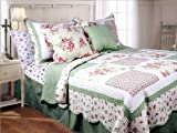 Textiles Plus 3-Piece Mini Quilt Set Spring Patch - Rs.6,270.00 @ AMAZON