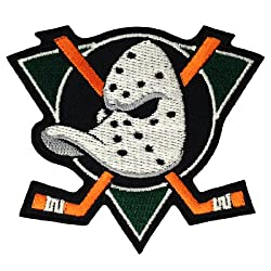 Anaheim Ducks The Past Logo Embroidered Iron Patches