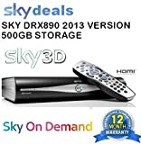 Sky+ Sky Plus HD Digibox Amstrad DXR890 250GB Personal Storage (2011 Slimline Version)